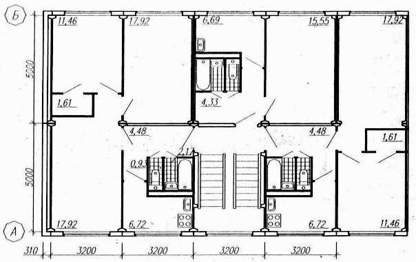 Аналог Московской серии дома К-7