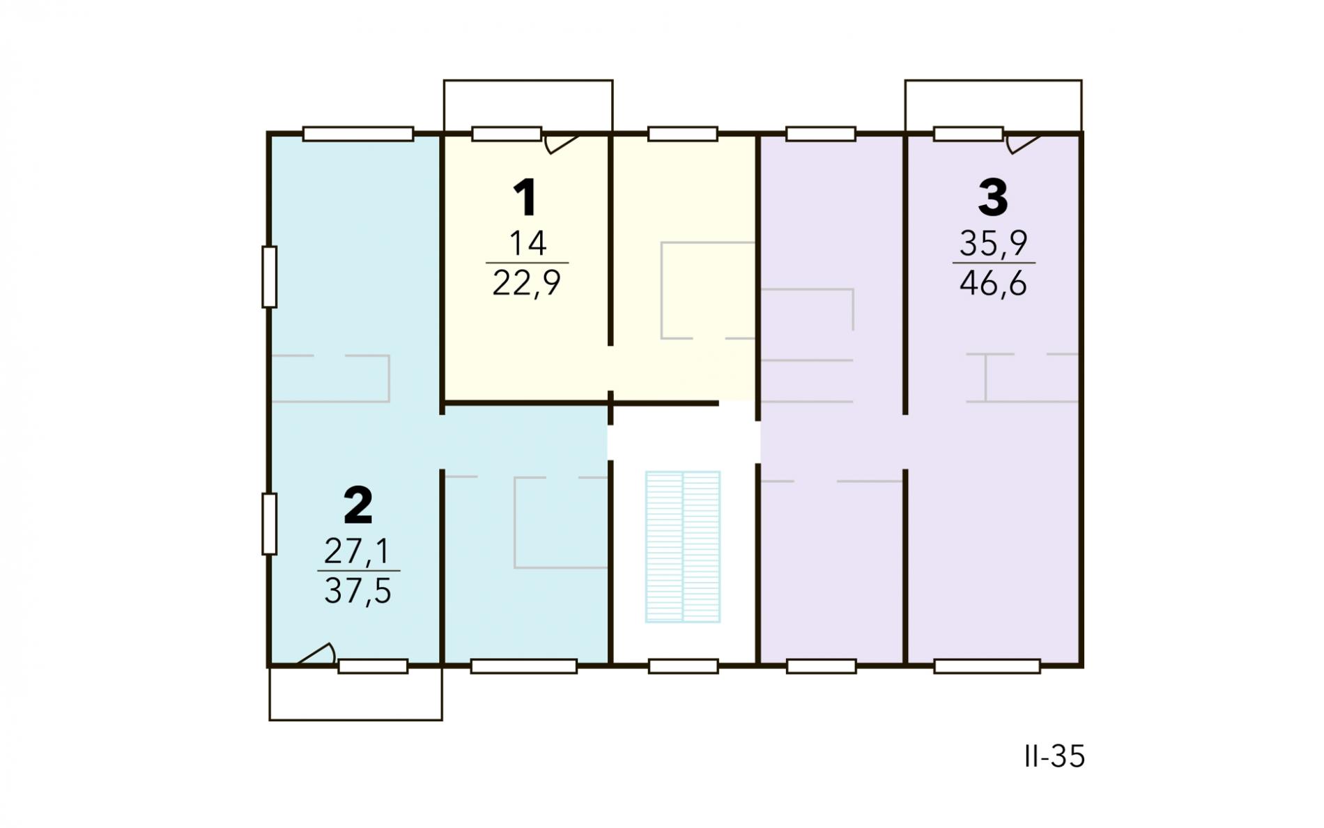 Серия дома II-35
